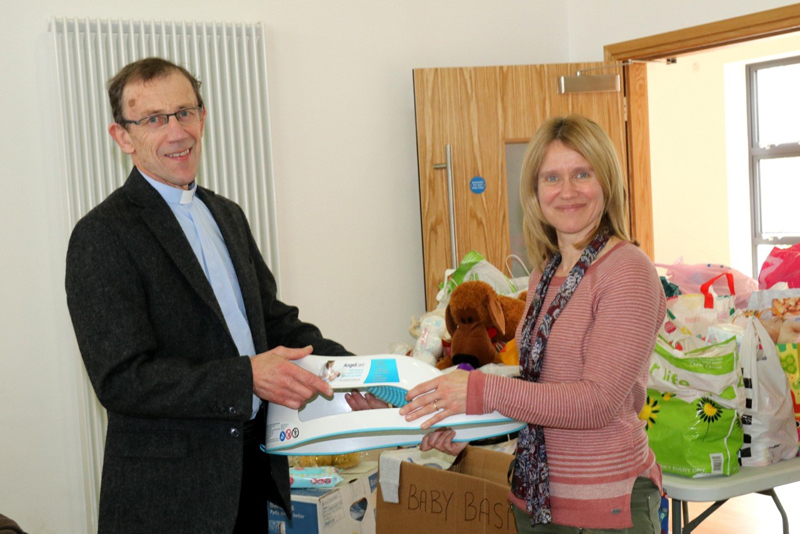 Families 'absolutely delighted' at support from Baby Basics Belfast