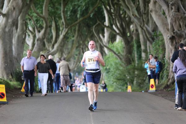 Clarence's half marathon fundraiser