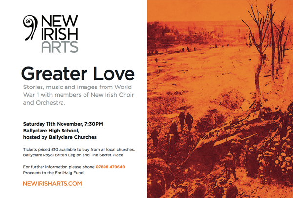 Greater Love production in Ballyclare