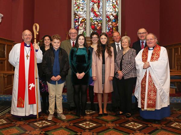 Confirmation in St Bride's, Kilbride