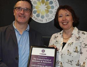 'Safe Church' Award for Ballynure and Ballyeaston