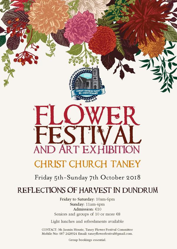 taney flower festival flyer a5 hr