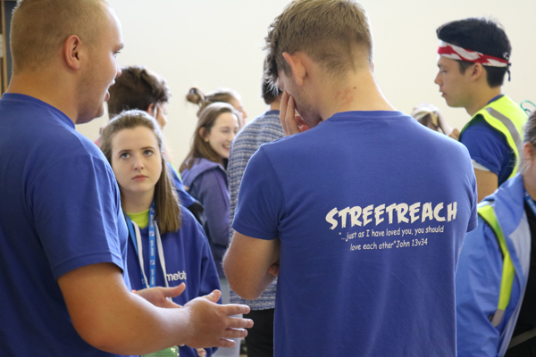Americans join Connor youth for Summer Madness and Streetreach