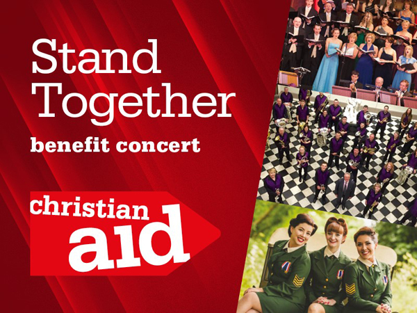 Stand Together concert for Christian Aid