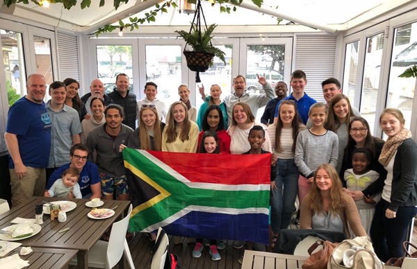 All Saints' Belfast team partners with South African church