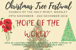 Save the dates for Mossley Parish Christmas Tree Festival!