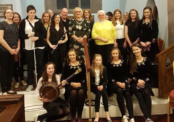 Wonderful evening of music in Layde Parish Church