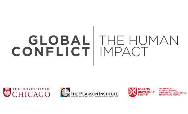 Dean of Belfast speaks at Global Conflict | Human Impact Conference reception