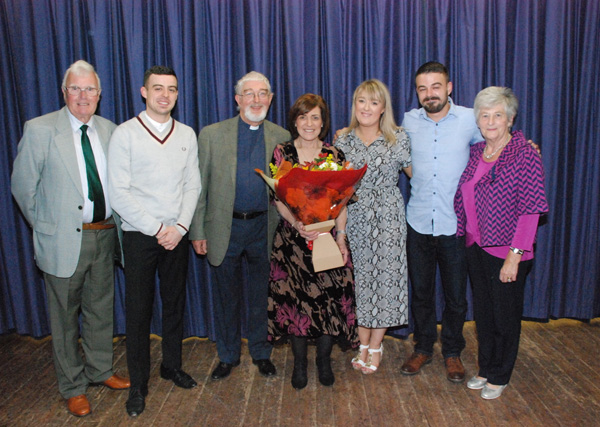 Derriaghy says farewell to Rev Canon John Budd and family