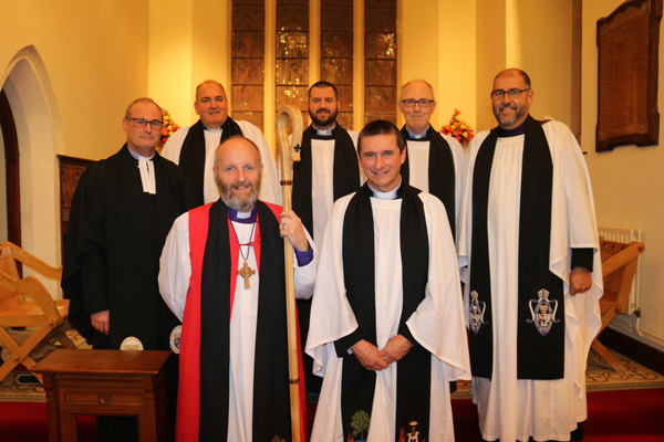 Institution of the Rev Andy Heber as vicar of Carnmoney