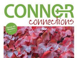 Catch up on all the news in the autumn 'Connor Connections'