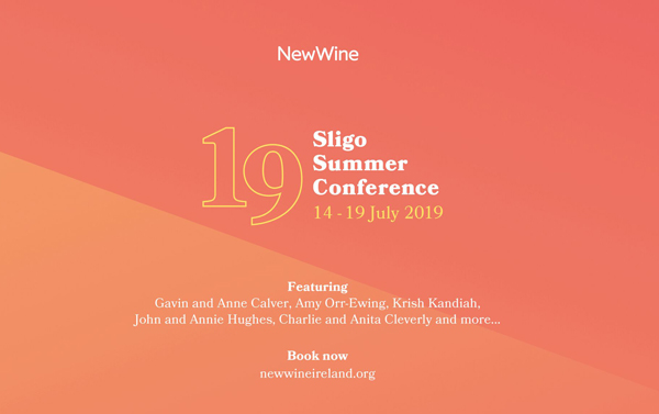 Book early for New Wine Sligo 2019!
