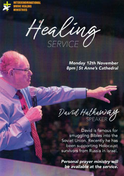 Divine Healing Ministries hosts exciting events during November - The  Church of Ireland Diocese of Connor