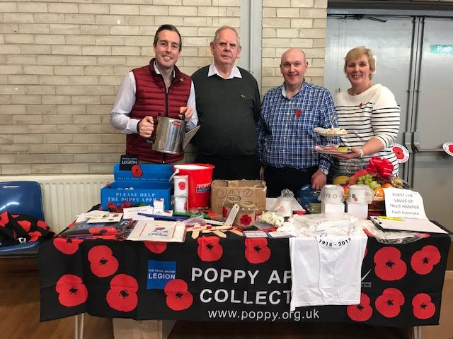 Coffee morning raises £2,500 for Poppy Appeal