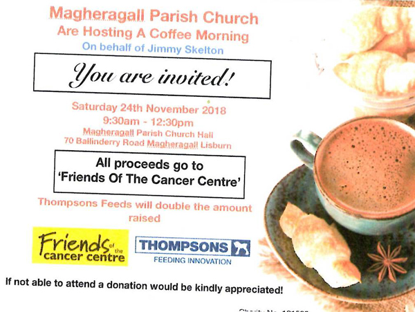 Magheragall fundraiser for Friends of the Cancer Centre