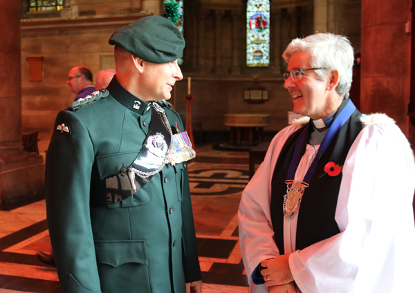 Royal Irish Regiment Service of Remembrance