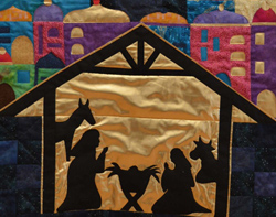Quilts for Advent exhibition open on December 1&2