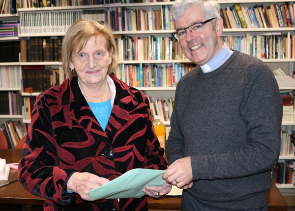 Agnes retires after almost five decades as Cathedral sexton