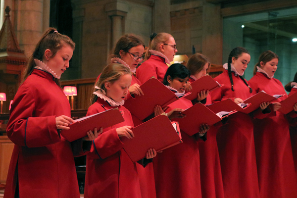 Concert in celebration of St Cecilia at Belfast Cathedral