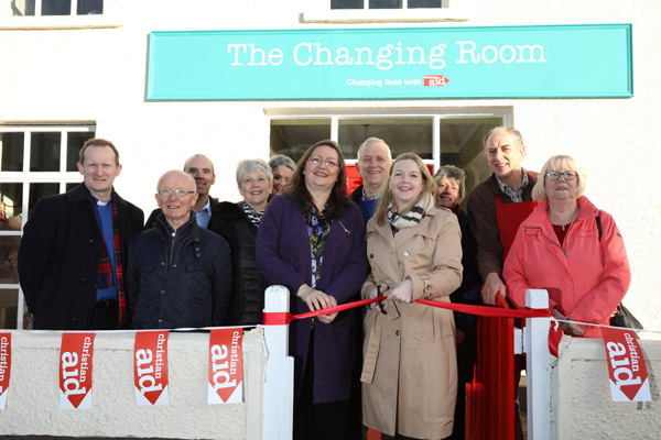 Christian Aid shop opens in Cullybackey