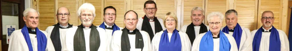40 years a Diocesan Lay Reader