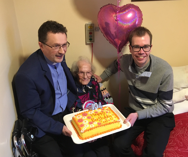 Happy 104th birthday Mrs Holman!