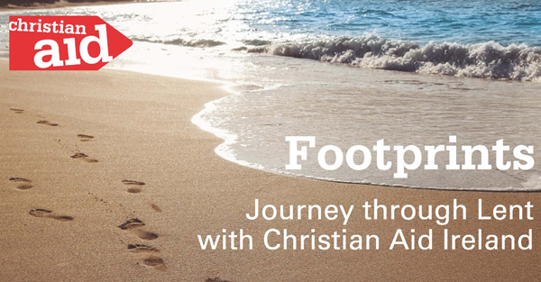 Christian Aid Ireland launches 'footprints reflections' for Lent