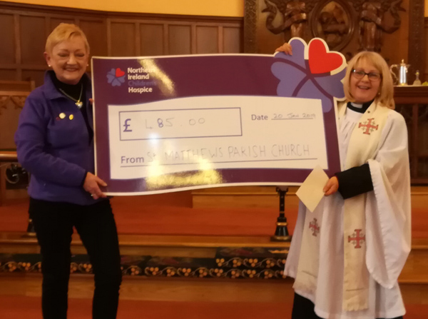 St Matthew's raises £485 for Children's Hospice