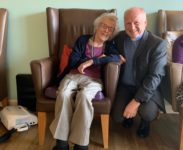Ruth celebrates her 100th birthday
