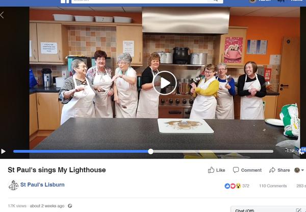 St Paul's video is an internet hit!