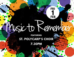 St Polycarp's Choir celebrates Director's anniversary