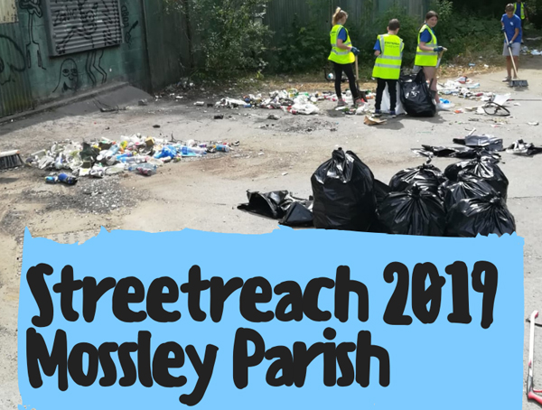 Streetreach 2019 partners with Mossley Parish