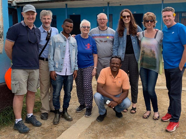 Ballinderry team working with Operation Rescue in Ethiopia