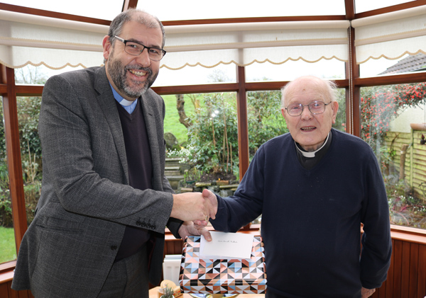 Canon Ruddock retires as Diocesan Curate