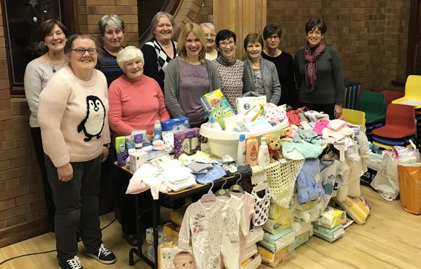 St Nicholas, Carrickfergus, supports Baby Basics