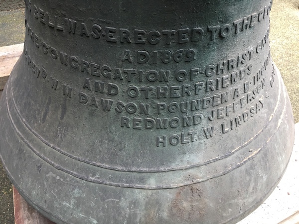 Bell freed from tower after 150 years!