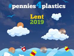 #Pennies4Plastics Lenten Initiative