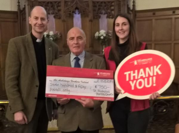 St Nicholas', Belfast, supports NI Air Ambulance