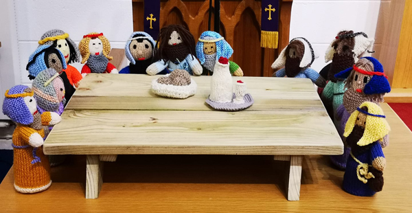 Tuesday Crafters' Last Supper