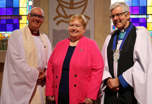 Commissioning of new Connor MU Diocesan President