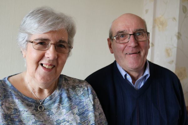Royal Maundy Thursday honour for Jim and Rosemary