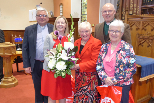 51 years of service to Christian Aid is recognised