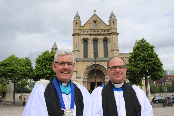 New Canon installed at Belfast Cathedral