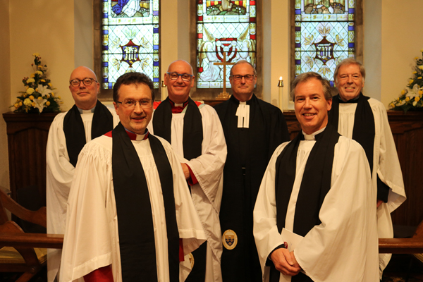 Institution of new rector of Templepatrick and Donegore