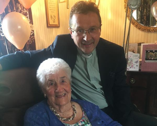 Kathleen celebrates her 100th birthday!