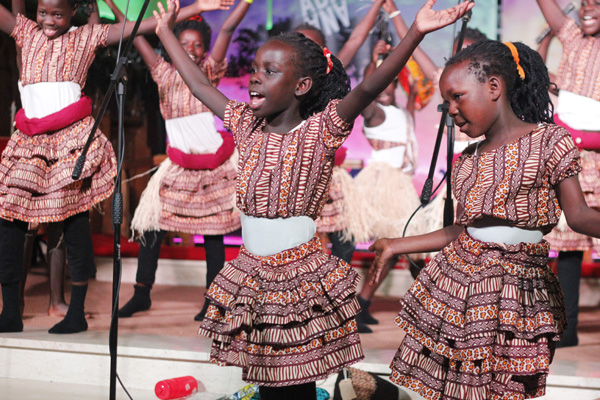 Abaana choir thrills, encourages and challenges