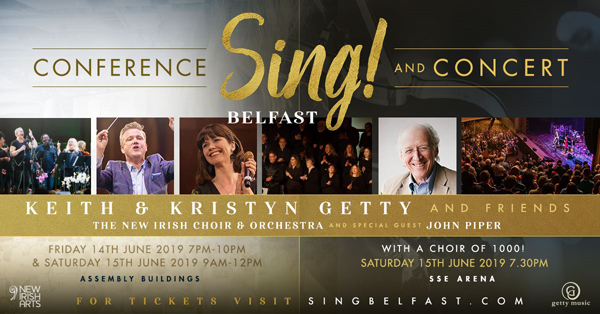 Your invite to Sing! Belfast Conference and Concert