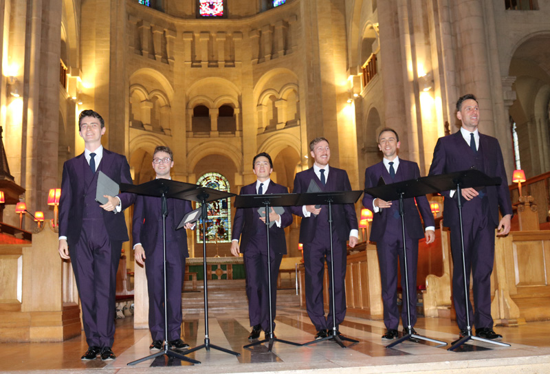 Magnificent concert by the King's Singers