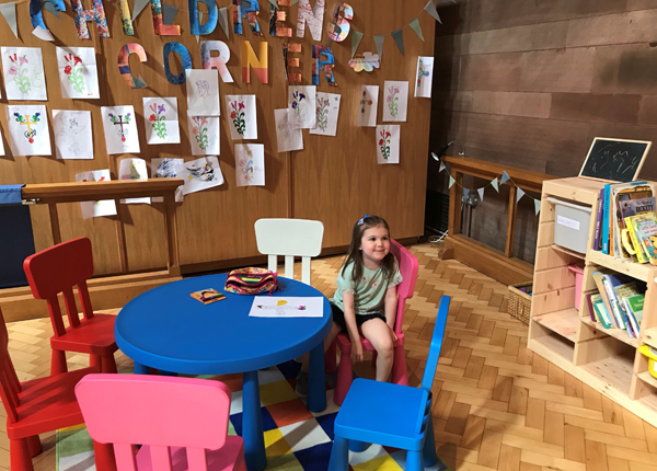 New Children's Corner at Belfast Cathedral