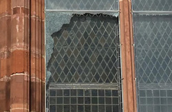 Incidents of vandalism at St Michael's, Belfast